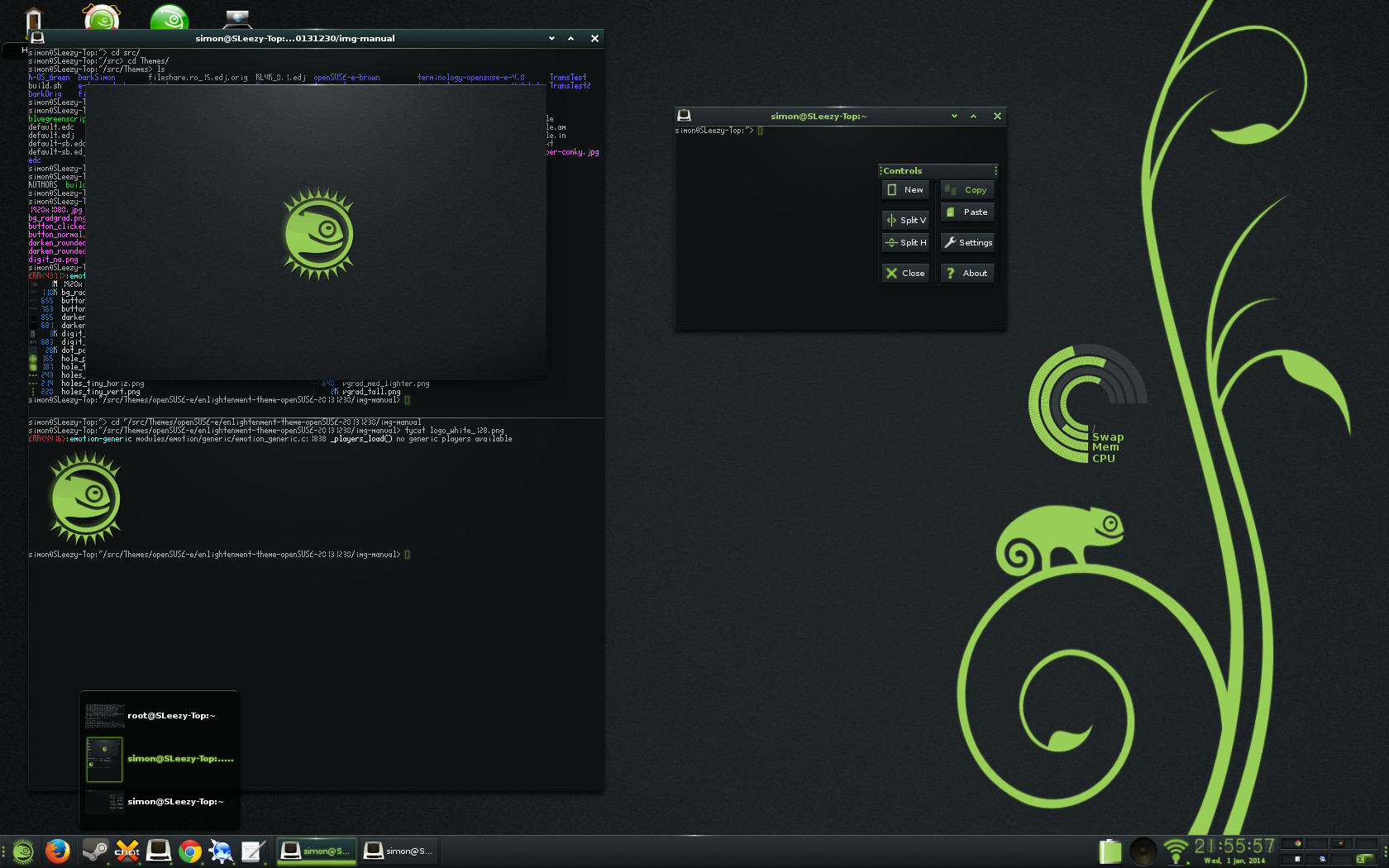 Terminology 0.4.0 Features on openSUSE